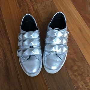 Rebecca Minkoff fashion sneakers Silver - size 7